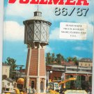Vollmer N HO Z Model Train Catalog 1986 1987 With Model Buildings