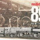 Marklin 1989 Model Train Catalog New Items With Price List
