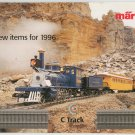 Marklin 1996 Model Train Catalog New Items