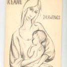 Keane Drawings Tomorrow's Master Series Portfolio Edition Lithographs With Dust Jacket Vintage