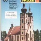 Faller 86 Ho N Z Model Train Catalog 1986