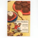 Vintage Brer Rabbit's Modern Recipes For Modern Living Cookbook Molasses