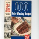 Pillsburys 3rd Grand National Bake Off 100 Prize Winning Recipes Cookbook Vintage 1952 First Edition