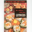 500 Delicious Dishes From Leftovers Cookbook Vintage 1952 Berolzheimer Culinary Arts