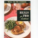 Meals For Two Cookbook Vintage 1954 Berolzheimer Culinary Arts