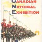 Canadian National Exhibition 1956 Salute To A Nation Vintage Brochure Souvenir