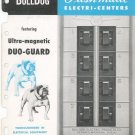 Vintage Bulldog Duo Guard Ultra Magnetic Pushmatic Circuit Breaker Catalog