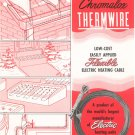 Vintage Chromalox Thermwire Edwin L. Wiegand Company Sales Brochure