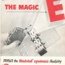Vintage The Magic E Stab lok Systems Circuit Breaker Catalog With 1954 Price List