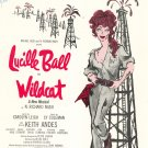 Hey Look Me Over From  Lucille Ball in Wildcat Vintage Sheet Music