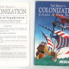 Sid Meier's Colonization Create A New Nation Manual Not PDF MicroProse