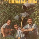 An Evening With The Kingston Trio Souvenir Book Vintage