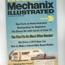 Mechanix Illustrated Magazine April 1972 Vintage How To Make A Convertible Room Divider