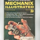 Mechanix Illustrated Magazine April 1970 Vintage New Lawn Mowers Implantable Heart Machine