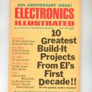 Electronics Illustrated May 1968 Vintage Item 10th Anniversary Issue CB Radio Special