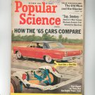 Popular Science Magazine October 1964 Vintage How The '65 Cars Compare