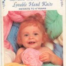 Lovable Hand Knits Infants To 4 Years Fleisher Volume 30 Botany Vintage
