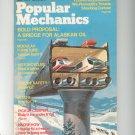 Popular Mechanics Magazine January 1974 Vintage A Bridge For Alaskan Oil