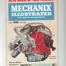 Mechanix Illustrated Magazine October 1961 Vintage Auto Show Of 1962 Models
