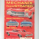 Mechanix Illustrated Magazine August 1965 Vintage Sneak Preview 1966 Cars