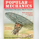 Popular Mechanics Magazine August 1964 Vintage Major de Seversky's Ion Propelled Aircraft
