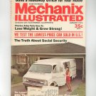 Mechanix Illustrated Magazine January 1973 Vintage Truth About Social Security