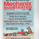 Mechanix Illustrated Magazine December 1971 Vintage Amazing Car That Comes Apart