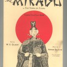 Schirmer Edition Of The Mikado Or The Town Of Titipu Gilbert & Sullivan Vocal Score