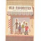 Vintage Old Favorites Songs We Love To Sing Keller Industrial Products 1955