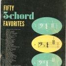 Fifty 3 Chord Favorites All Organ Series Hansen 5