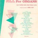 All Standards For Organs Latin Rhythm Guide Chord Names Lyrics by Mark Laub