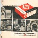 Norma Hoffmann Distributor Service Manual Vintage 1967