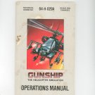 Gunship The Helicopter Simulation Manual Not PDF Micro Prose