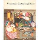 Scandinavian Smorgasbord Cookbook Scandinavian Airlines System Vintage Souvenir