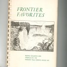 Frontier Favorites Cookbook Regional New York Niagara Falls Service League Vintage 1965