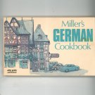 Miller's German Cookbook by Fulton Miller 0911954228