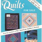 Lot Of 4 Quilts For Sale Magazine The American Quilter's Society 1988