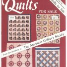 Lot Of 4 Quilts For Sale Magazine The American Quilter's Society 1986