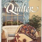 Lot Of 4 American Quilter Magazine 1987 Spring Summer Fall Winter