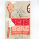 Lets Bake Cookbook by Robin Hood Flour Vintage Item 1964