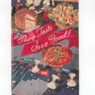 They Taste So Good Cookbook by Planters Peanut Oil Vintage 1955