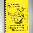 Cooking With The Kings Cookbook Regional Kearney Marching Band New York 1986