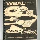 WBAL Radio 11 Cookbook Regional Baltimore Maryland Vintage