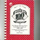 Fort Bragg Advocate News Centennial Cookbook by Heidi Cusick 1989