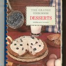The Grange Cookbook Desserts 2000 Favorite Recipes Vintage