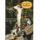 National Geographic School Bulletin May 1970 Outdoor Days Are Here Again