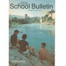 National Geographic School Bulletin October 1970 Yugoslavia