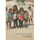 National Geographic School Bulletin September 1970 Peru Stands Up To Disaster