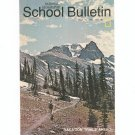 National Geographic School Bulletin May 1971 Vacation Trails Ahead