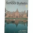 National Geographic School Bulletin March 1971 Mr. Vanderbilt's American Chateau